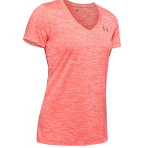 NWT Under Armour Twisted Tech V Neck Top XS